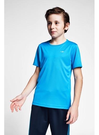 Lescon Mavi Çocuk T-Shirt 20S-3220-20B Mavi